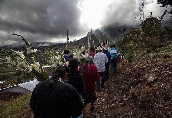 Los problemas más graves de hambruna están en la sierra Sur de Oaxaca, donde se reportan incluso niños con deformidades genéticas, debido a la mala alimentación de las madres. (Imagen de contexto/jlsantiago.com)