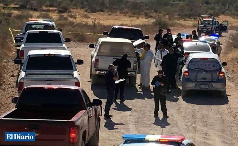 El cuerpo de la mujer fue hallado la mañana de ayer por la Fiscalía. (Foro: El Diario de Chihuahua)