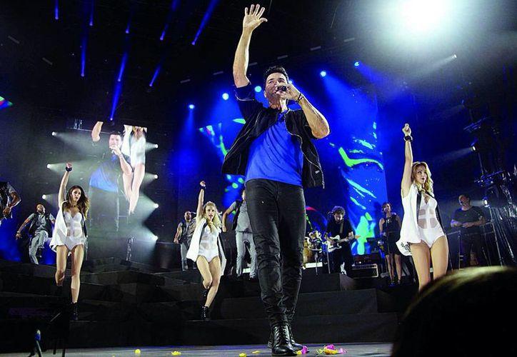 Chayanne presentó su show el 21 de noviembre en Cancún (Luis Soto/SIPSE)