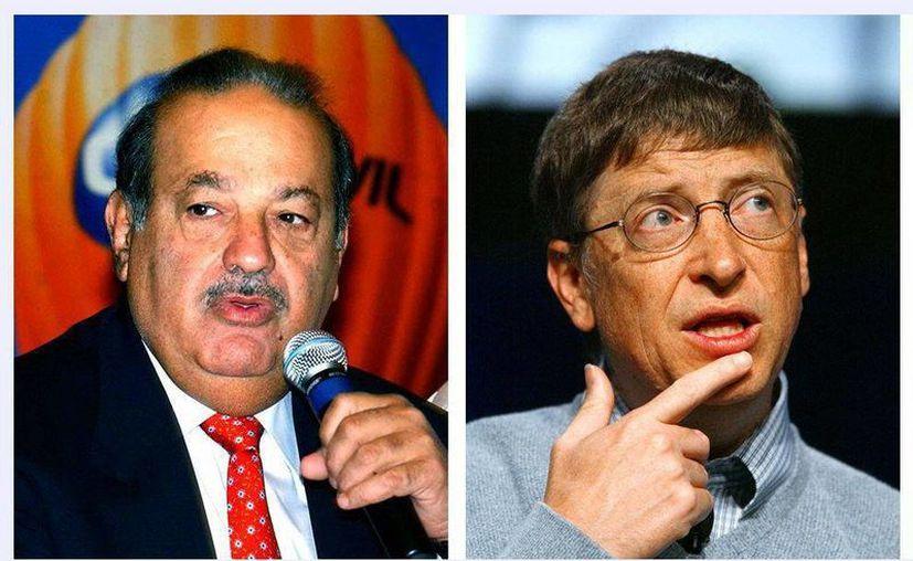 El mexicano Carlos Slim supera ya en riqueza al estadounidense Bill Gates. (EFE)