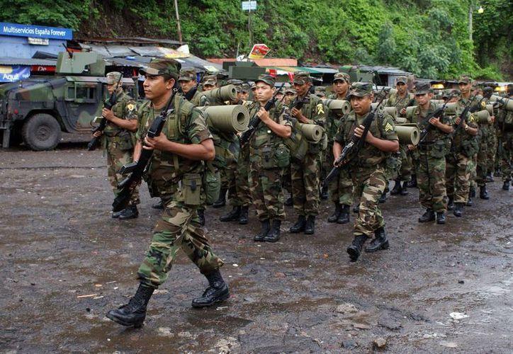 La denominada Fuerza de Tarea Institucional Chortí, que fue creada en abril pasado, tendrá su sede en el departamento oriental de Zacapa. (Archivo/EFE)