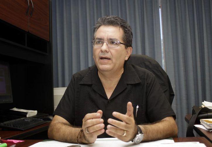 El delegado estatal de la STPS, Luis López Pérez. (Christian Ayala/SIPSE)
