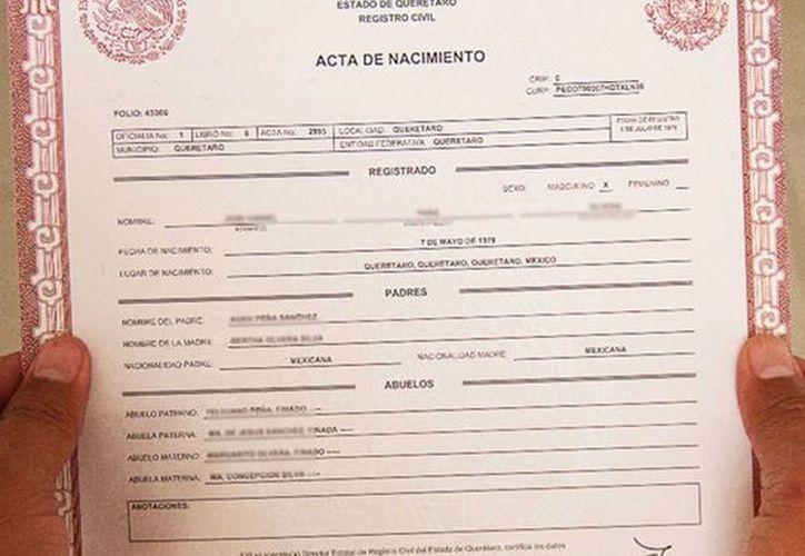 Cómo sacar el acta de nacimiento en línea | Noticias de México y el ...