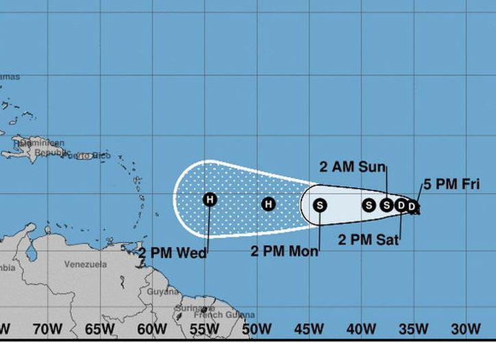 La depresión tropical número nueve de la temporada entraría al Caribe la próxima semana. (Foto: Milenio Novedades)