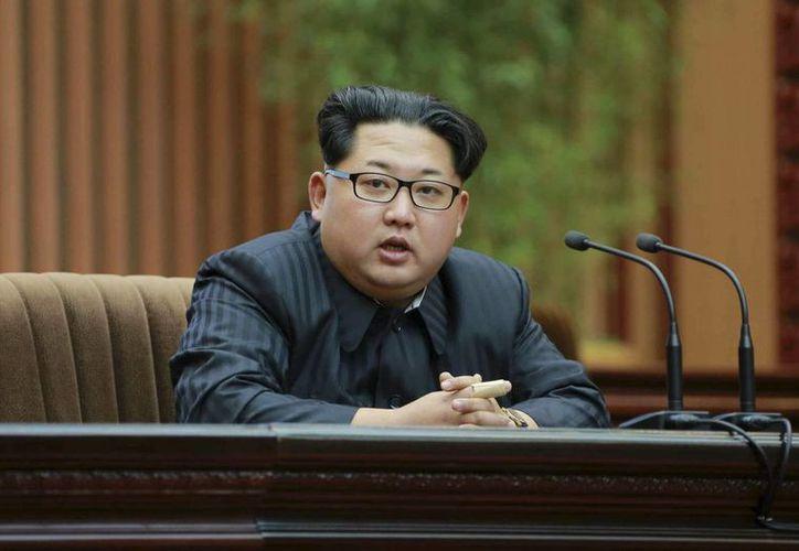 Kim Jong-un, líder de Norcorea, responde a las sanciones impuestas por Naciones Unidas contra su país. (EFE)