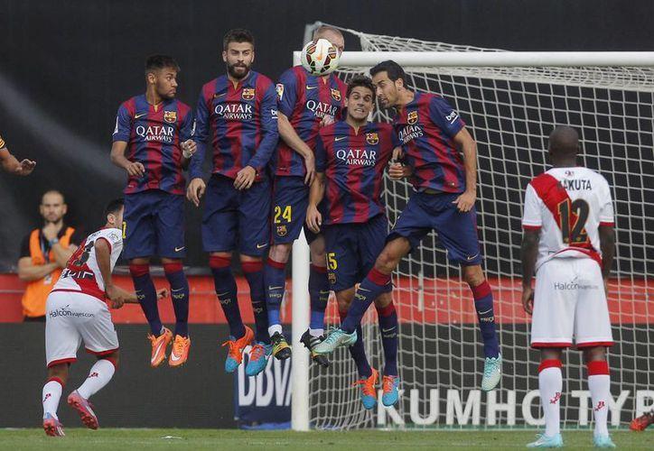 El Barcelona también estiró la racha sin recibir gol. (Foto:  AP)