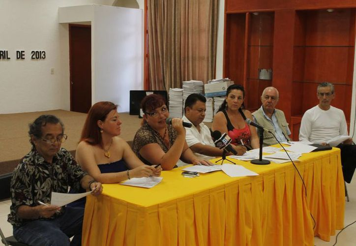 En rueda de prensa, el Instituto Municipal de Cultura dio a conocer los pormenores de la celebración que durará una semana. (Jesús Tijerina/SIPSE)