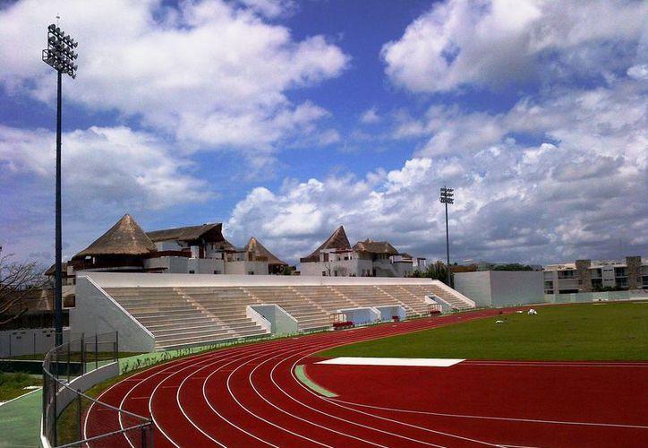 Este lunes se hará la entrega oficial de las instalaciones remodeladas del deportivo Mario Villanueva. (Cortesía/Ayuntamiento)