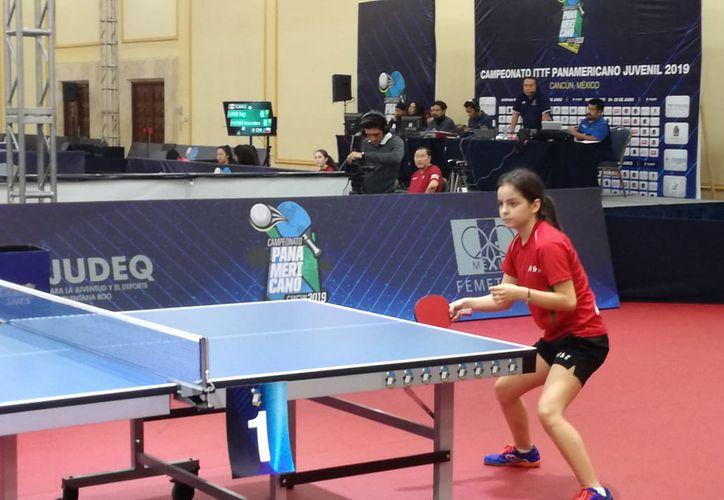 México fue eliminado del Campeonato Mundial de tenis de mesa, que se realiza en Cancún. (Raúl Caballero/SIPSE)