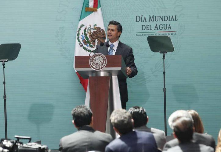 El Presidente será acompañado por el titular de la Sedena. (Archivo/Notimex)