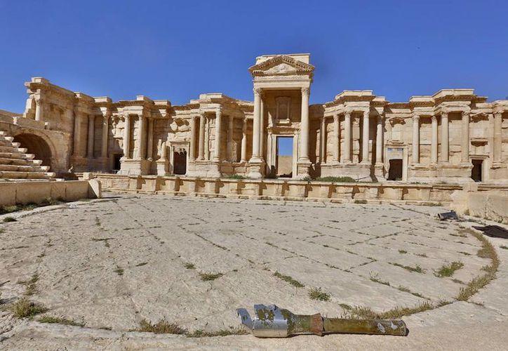 Fuerzas del gobierno sirio reconquistaron Palmira del asedio de los extremistas. (AP)