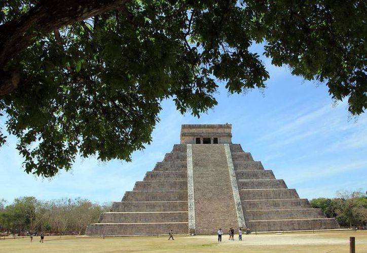 Pirámide de Kukulcán o también llamada El Castillo en la zona arqueológica de Chichen Itzá, formó parte de la cultura Maya. (Foto: archivo/SIPSE)
