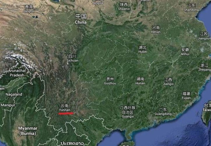 El ataque con cuchillos ocurrió en la estación de ferrocarril de Kunming, en la provincia de Yunnan. (Google Maps)