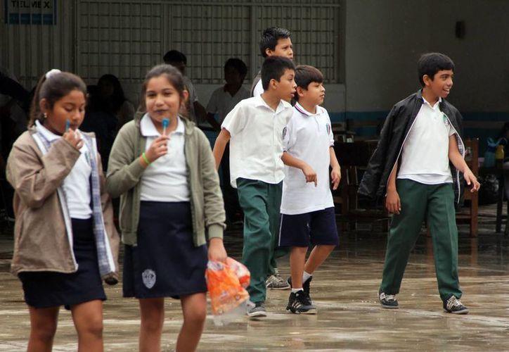 El DIF municipal trabaja con alumnos de primaria contra el bullying. (SIPSE)
