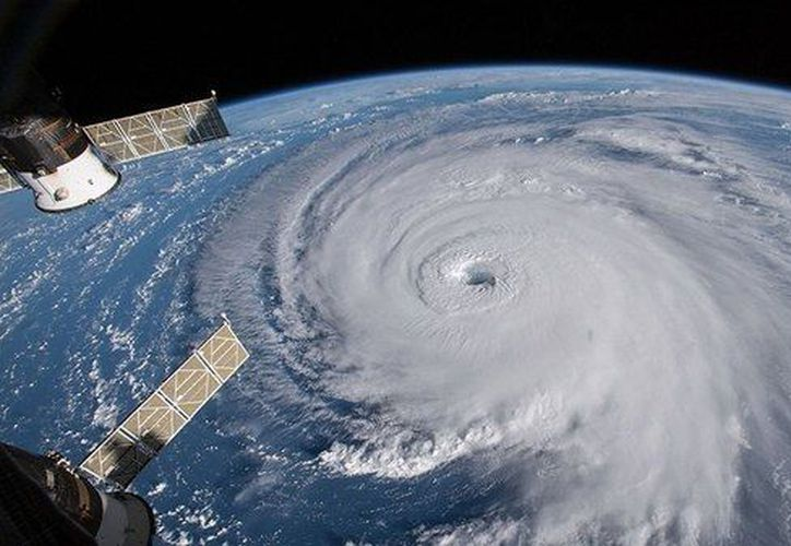 Así se ve el huracán Florence desde el espacio (Estación Espacial Internacional / NASA)