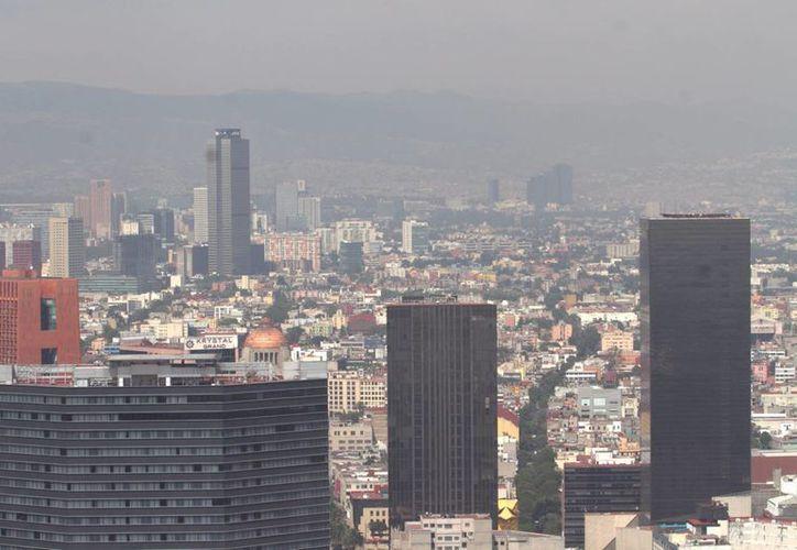 Este lunes se reportan hasta 142 puntos de ozono en algunas zonas del Valle de México. (Notimex)
