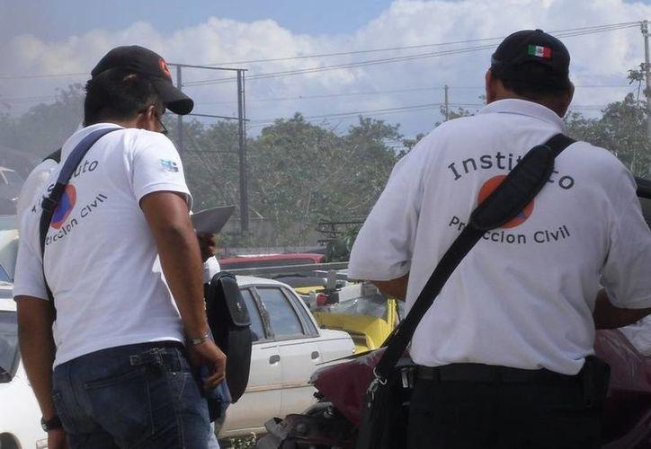 La Canaco denuncia acoso de elementos de Protección Civil; esta dependencia niega los hechos. (Adrián Barreto/SIPSE)