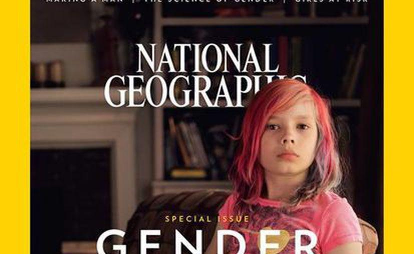 Avery Jackson es la primera persona transgénero que aparece en la portada de National Geographic. (facebook.com/sarah.leen)