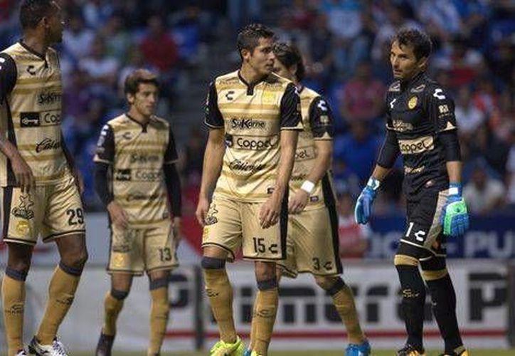 Dorados se ubica en la décimo sexta posición con 11 puntos, tras 13 jornadas de la Liga Mx.(Notimex)