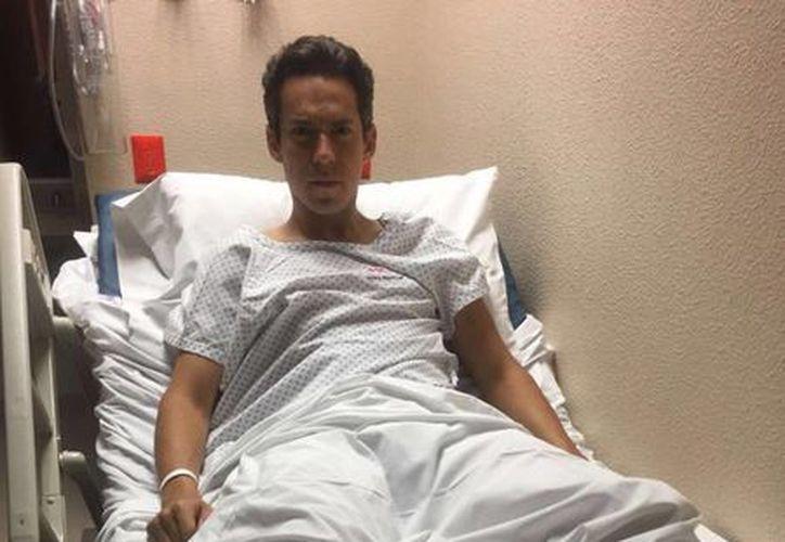 Diego Silveti, corneado en el escroto este fin de semana, fue operado y ya salió del hospital. (Foto tomada de ntrzacatecas.com)