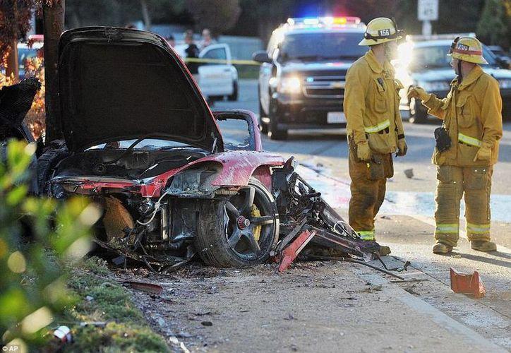 Paul Walker murió en noviembre de 2013 cuando conducía a toda velocidad su Porsche Carrera GT. (Archivo/SIPSE)