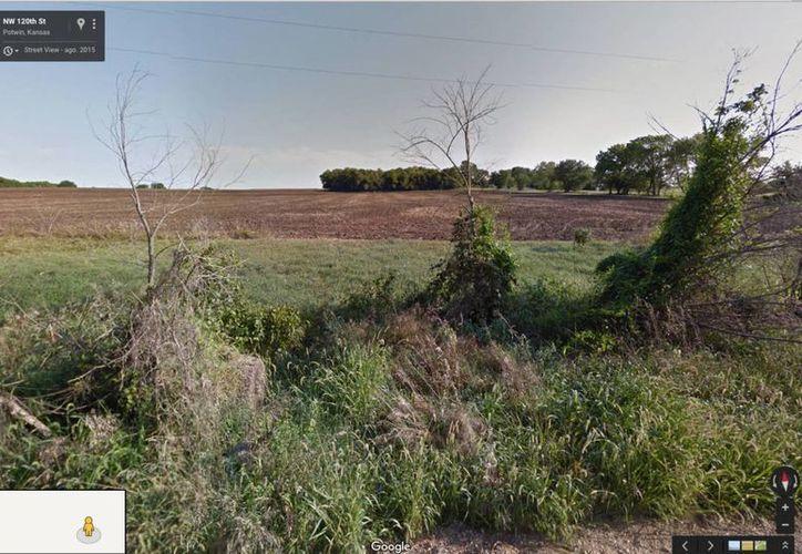 Captura de pantalla en Street VIew de las coordenadas que muestra MaxMind. (Foto tomada de elpais.com)