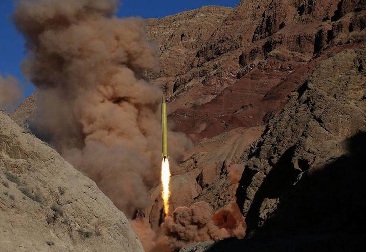 Los misiles destruyeron objetivos en lugares identificados en la costa sureste de Irán. (Agencias)