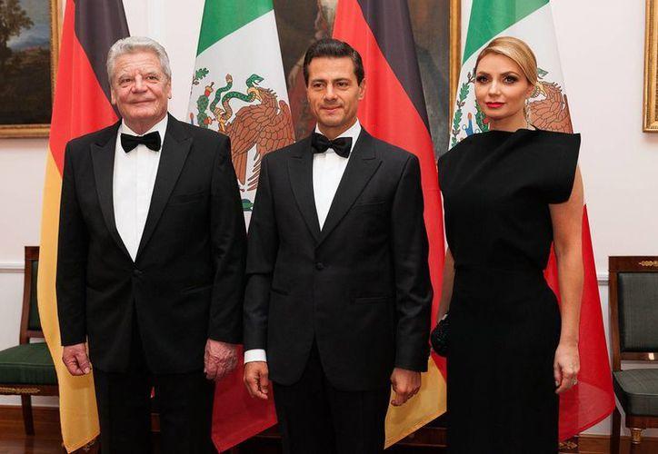 Este lunes fue el primer día de actividades del presidente de México en su gira por Alemania. (EFE)