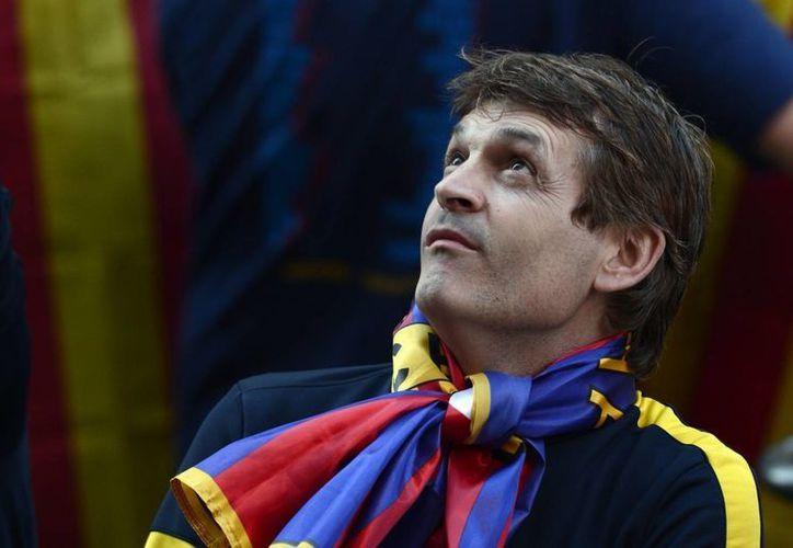 Vilanova fue primero asistente de Guardiola y después, durante un año, su sucesor. (huffingtonpost.es/Foto de archivo)