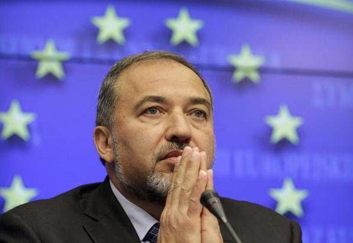 Israel dio a conocer que el complot contra la vida del ministro de Asuntos Exteriores, Avigdor Lieberman, fue preparado por Hamás el verano pasado. (Archivo/AP)