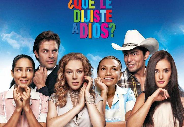 Poster de la película ¿Qué le dijiste a Dios?, un musical que estuvo entre los cinco filmes más vistos en 2014. (mastelenovelas.com)