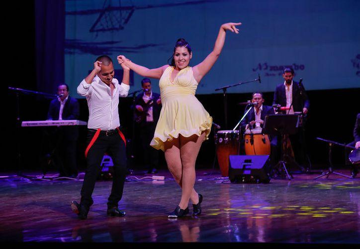 Al Primer Festival Internacional de Salsa acudió la Coordinadora del Teatro de la Ciudad, Rosi Valdéz. (Redacción/SIPSE)