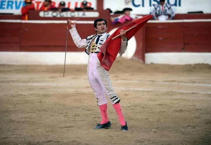 Joselito Adame se entregó a la afición yucateca en la Plaza de Toros Mérida. (Milenio Novedades)
