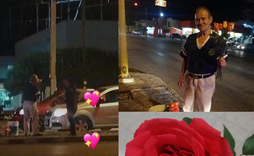Mérida: se la historia de don Ricardo, un humilde vendedor de flores