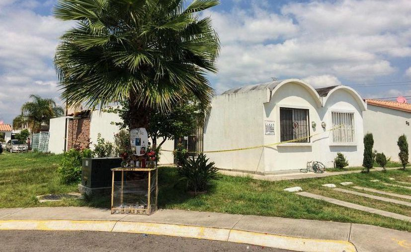 Imagen de la casa donde vivía Sol con sus hijos. (Óscar Balderas/VICE News)