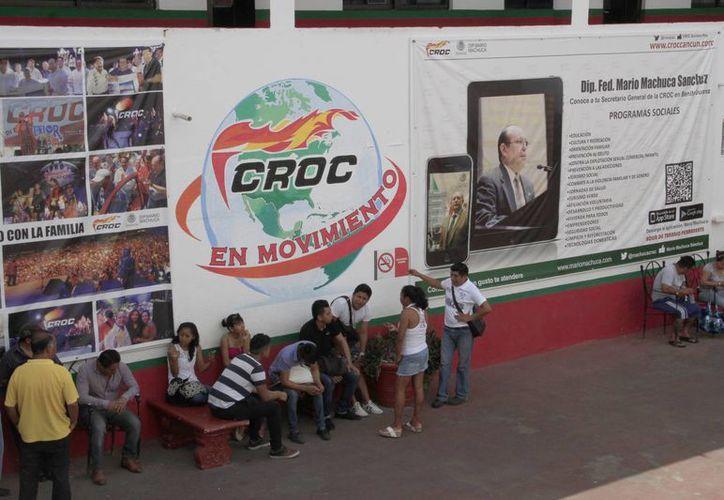 La CROC impulsa la educación de los hijos de los trabajadores. (Tomás Álvarez/SIPSE)