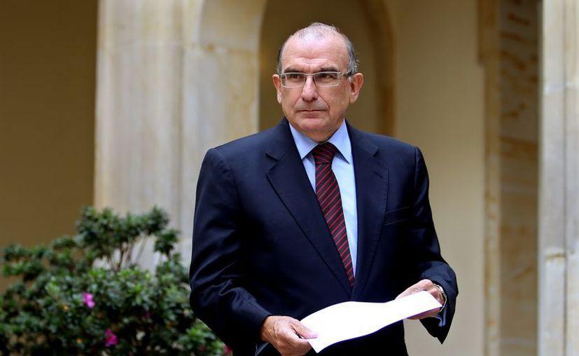 El jefe del equipo negociador del Gobierno colombiano, el exvicepresidente Humberto de la Calle. (EFE)