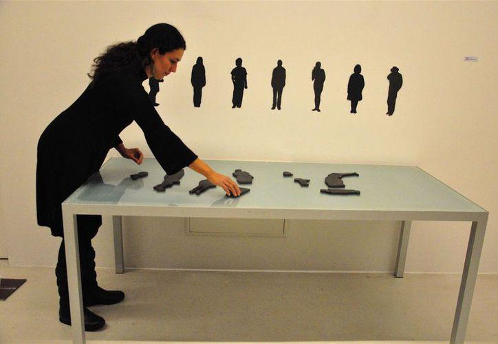 Selma Guisande dijo que usarán materiales como el barro y yeso. (Faride Cetina/SIPSE)