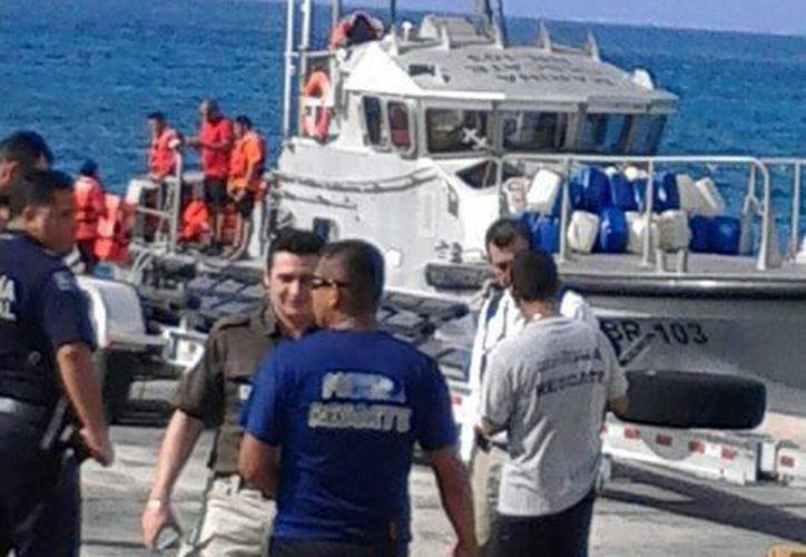 Los migrantes serán trasladados a Cancún. (Gustavo Villegas/SIPSE)
