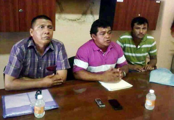 Líderes de ambulantes fijaron su postura ante los resultados de la investigación del regidor Dogre. (Milenio Novedades)