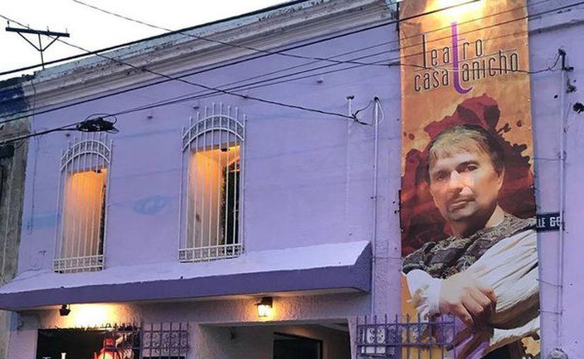 Celebran en Teatro Casa Tanicho. (Novedades Yucatán)