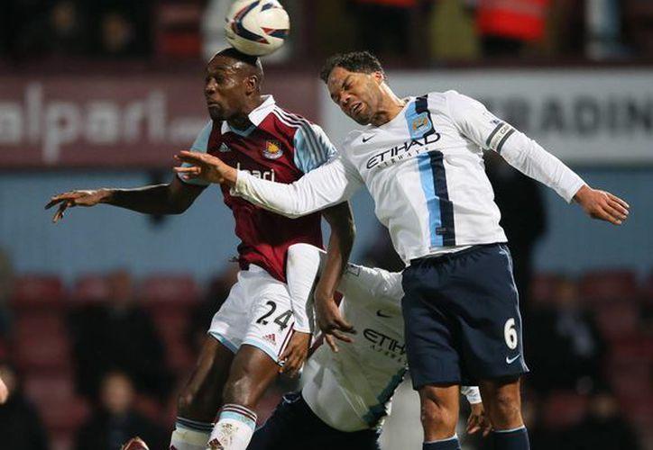 """Aunque el """"City"""" ya tenía segura su clasificación, decidió ofrecer un buen partido ante el West Ham United. (Agencias)"""