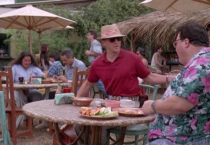 El actor de Jurassic Park, Cameron Thor (de rojo), fue hallado culpable por abusar de una menor de edad. (fameimages.com)