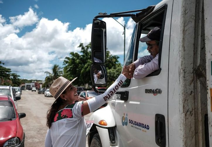 Marybel Villegas Canché aseguró que acelerará la marcha y visitará cada rincón de Quintana Roo. (SIPSE)