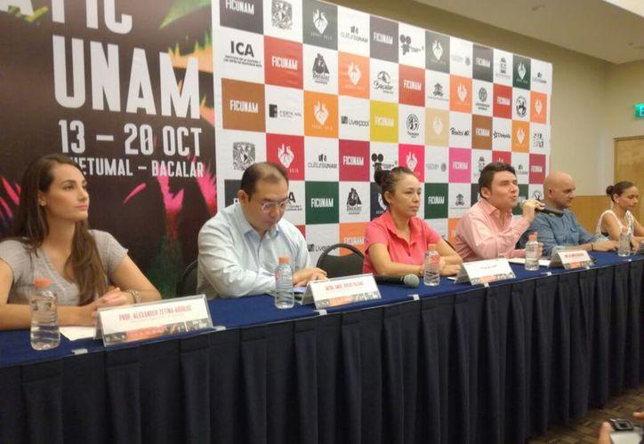 En la presentación se informó que el objetivo del festival es el explorar el cine a través del estudio académico e innovador. (Joel Zamora/SIPSE)