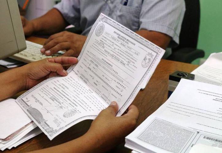El Registro Civil lanzó un programa para regularizar matrimonios en Yucatán. (Archivo/SIPSE)