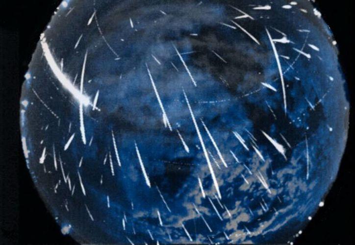 El blog de la NASA dedicado a los asteroides indica que se espera que los meteoros, provenientes de la constelación Géminis, brillen más que la Luna. (nasa.gov)