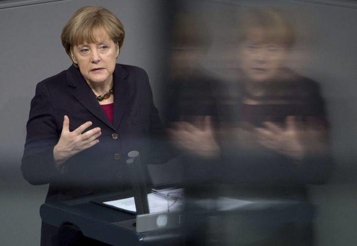 Para Times, gracias a Angela Merkel, Occidente se concentró en sus ideales. (Archivo/EFE)