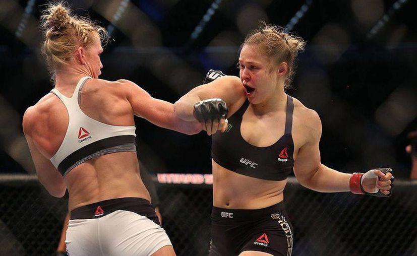 La luchadora Ronda Rousey rompe el silencio tras su derrota. (Foto tomada de espn.com.ve)
