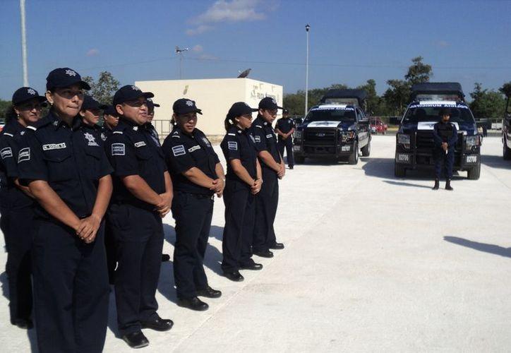 Informan que hay pocos avances en la conformación de la Policía Acreditable. (Adrián Barreto/SIPSE)